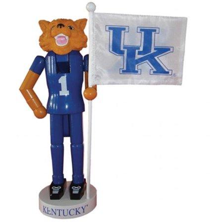 Santas Workshop KYW092 12 in. Kentucky Mascot Flag Nutcracker - image 1 of 1