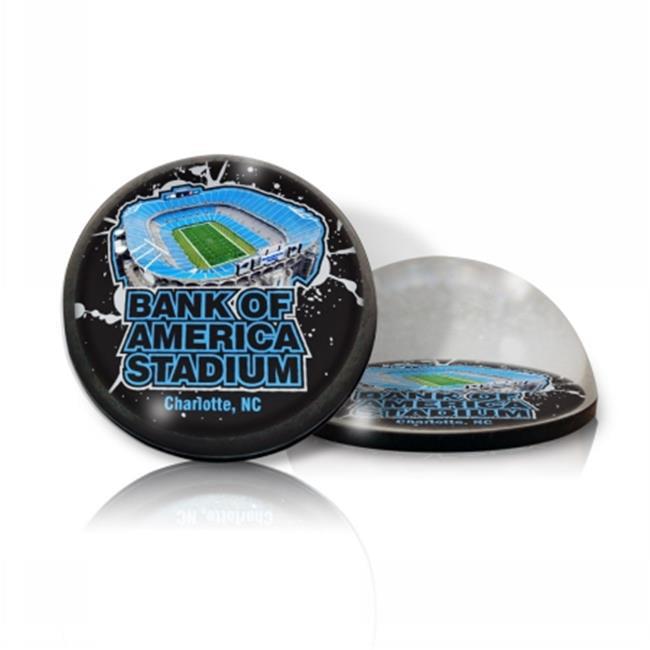 Paragon Innovations Company BankAmericaMAGSTADIUM NFL Bank Of America Stadium Crystal Magnet