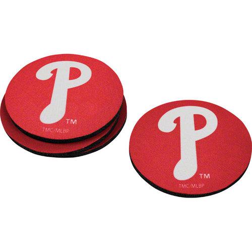 MLB - Philadelphia Phillies Neoprene Coaster Set
