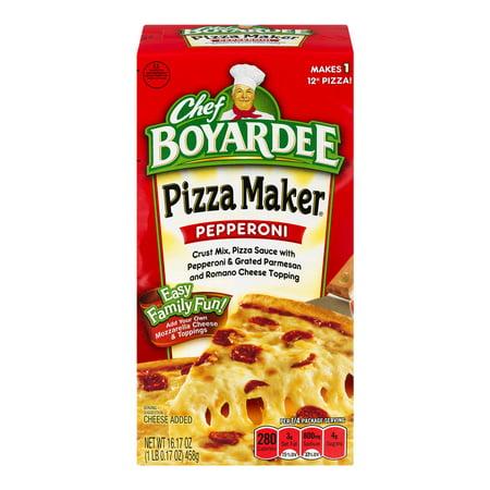 Chef Boyardee 16.17z Cb Pep Pizza Kit