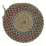 Colonial Mills Twilight 15 in. Round Chair Pad
