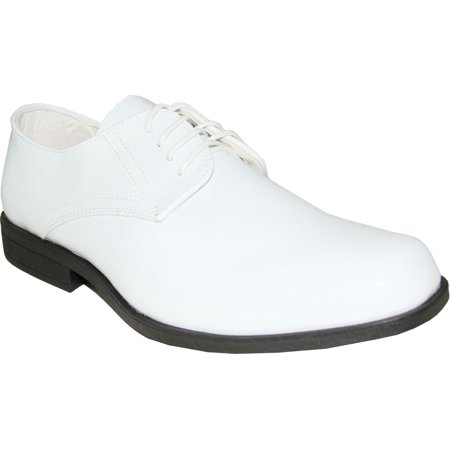 JEAN YVES Dress Shoe JY01 Classic Tuxedo for Wedding Prom and Formal Event White 8 D(M) US - Jean Yves Tuxedos