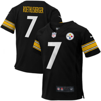 61be2789a Product Image Ben Roethlisberger Pittsburgh Steelers Nike Infant Team Color  Game Jersey - Black