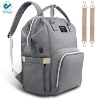 Deago Large Capacity Mummy Maternity Travel Backpack Diaper Nappy Bags Multi-function for Baby Care