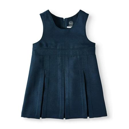 Cheerleader Uniforms For Girls (Wonder Nation Toddler Girls School Uniform Empire Waist Jumper (Toddler)