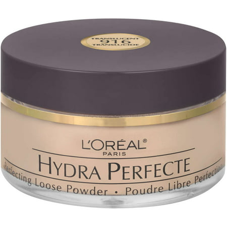 L'Oreal Paris Hydra Perfecte Perfecting Loose Face Powder, Translucent, 0.5 (Best Makeup Setting Powder For Combination Skin)