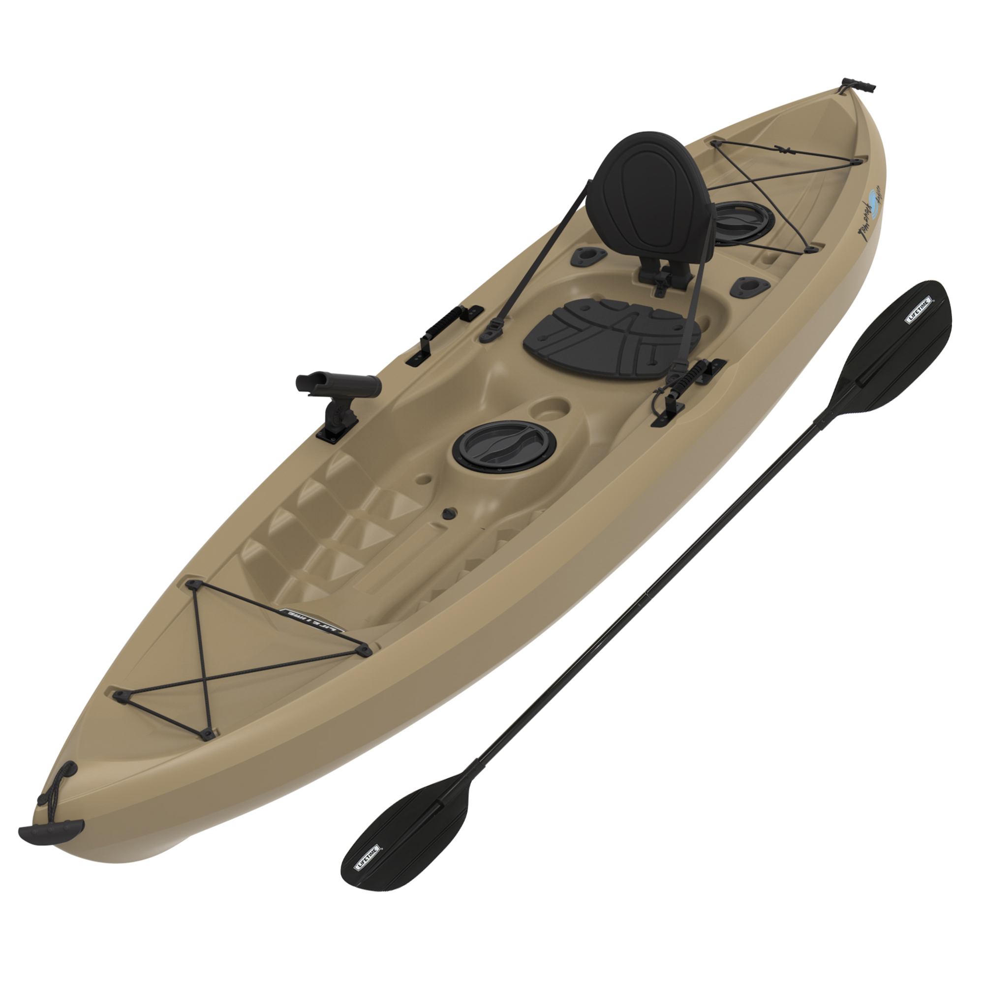 Lifetime Tamarack Angler 100 Fishing Kayak (Paddle Included) by Lifetime Products