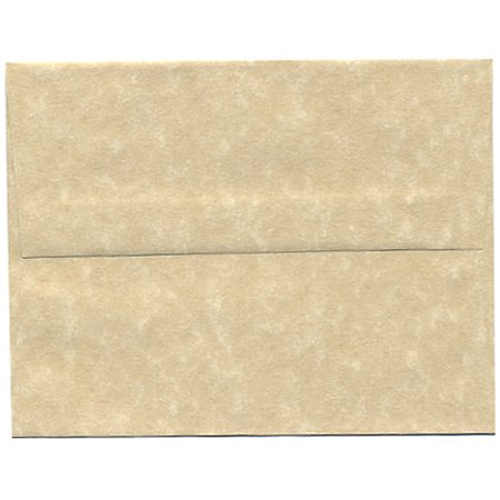 jam paper a2 invitation envelopes 4 3 8 x 5 3 4 parchment brown