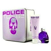 Police To Be Coffret: Eau De Parfum Spray 75ml/2.5oz + Body Lotion 100ml/3.4oz For Women