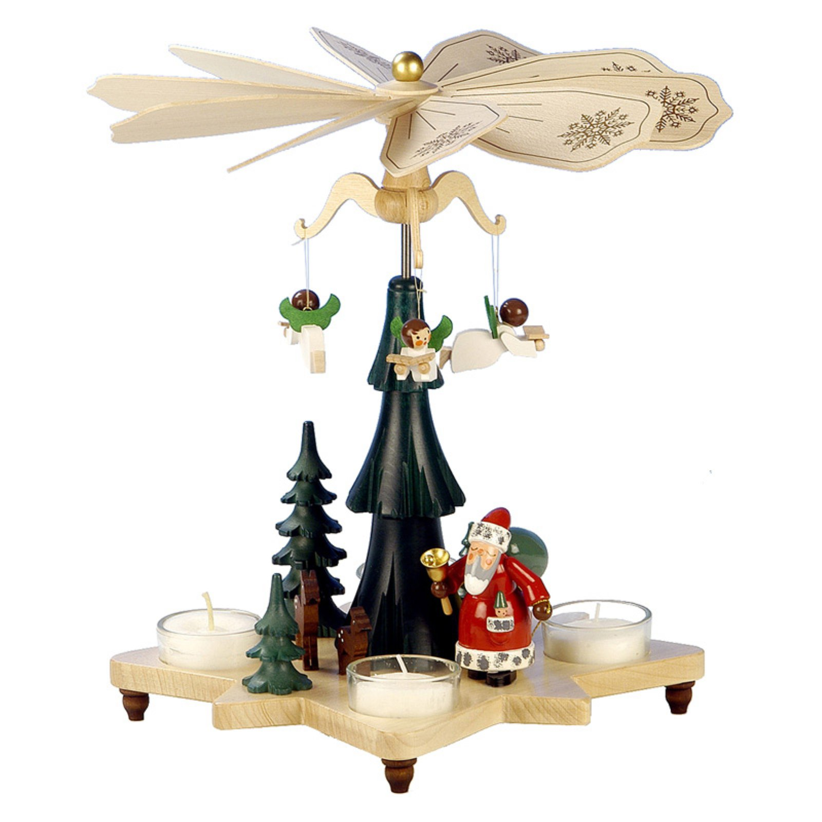 Alexander Taron Christian Ulbricht Santa with Angels Pyramid