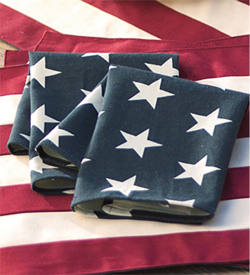 Napkins Americana Napkins Set of 4