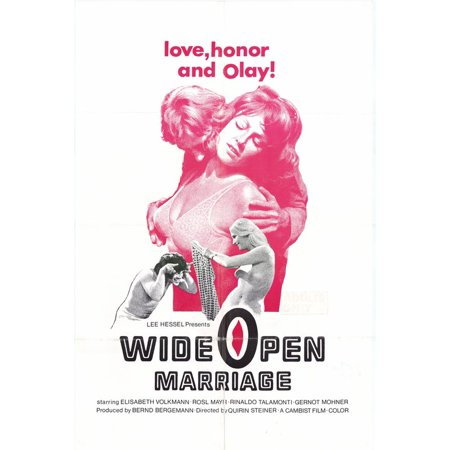 wide open marriage poster movie 27x40 walmart com