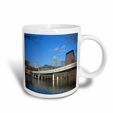3dRose Austin Texas Downtown Bridge Architecture Skyline Photo, Ceramic Mug, 11-ounce](Halloween Stores Austin Texas)