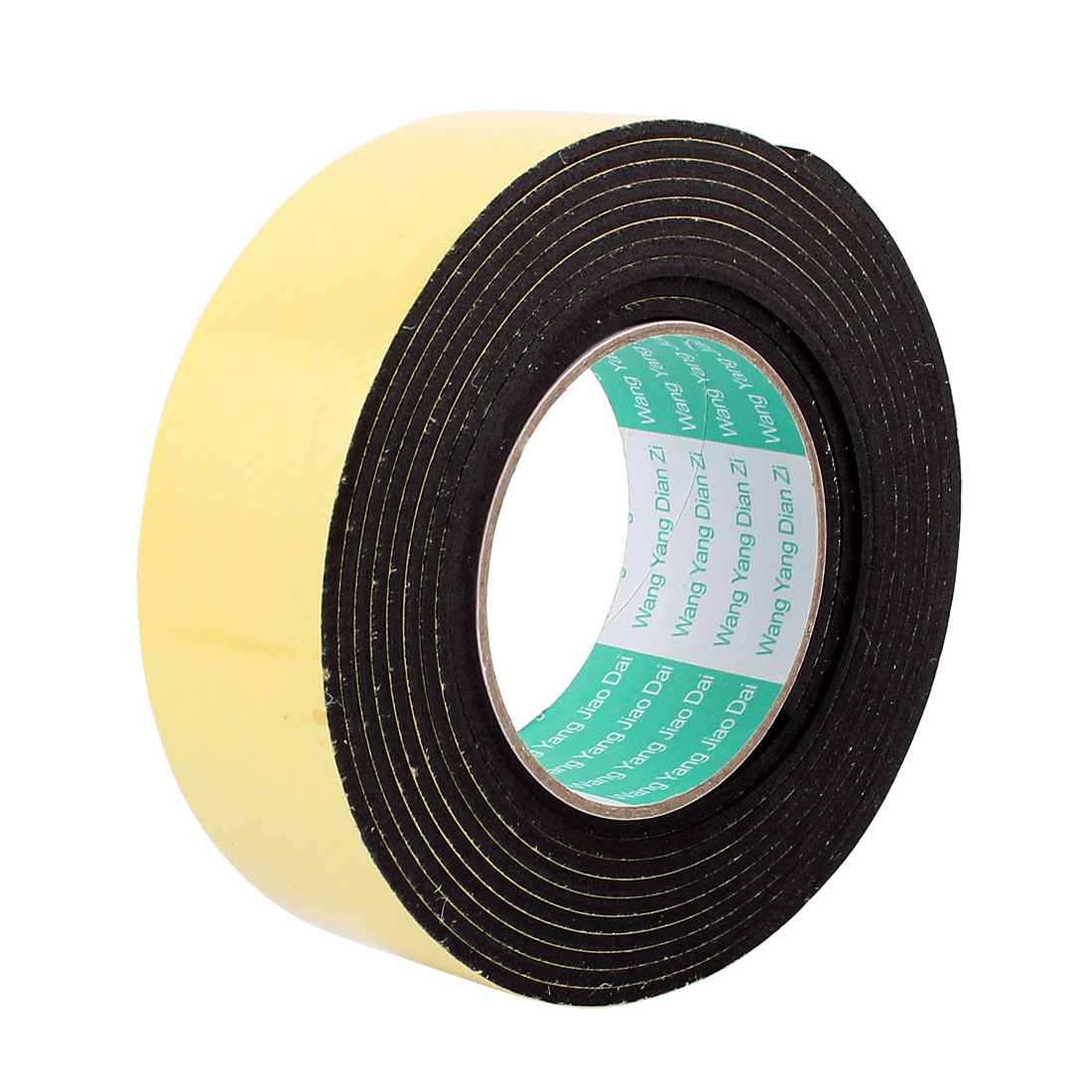 4.5CM Wide 3Meters Length 4MM Thick Single Sided Sealing Shockproof Sponge Tape