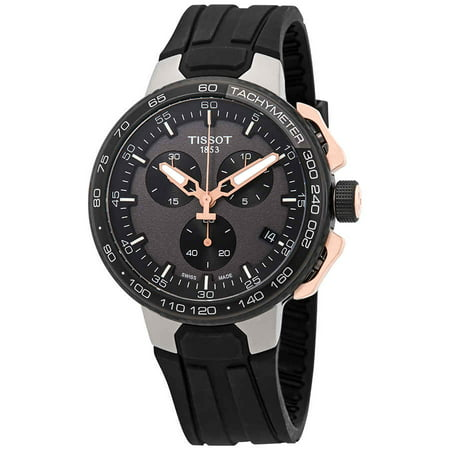 Tissot T-Race Chronograph Black Dial Men