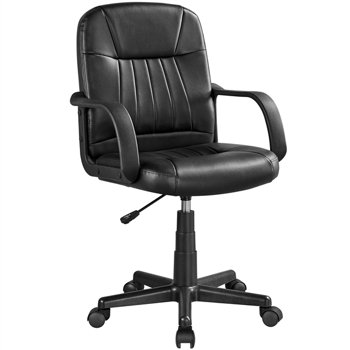 SmileMart Adjustable Ergonomic Office Executive Leather Computer Chair