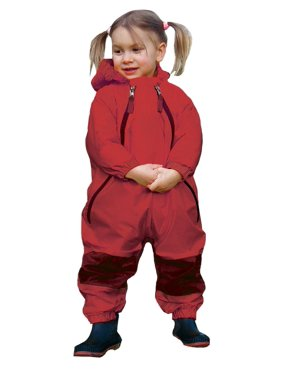 Muddy Buddy Waterproof Rain Suit-Color:Red,Size:2 Toddler