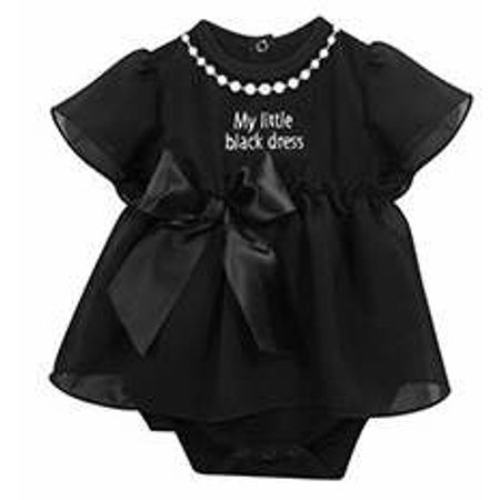 fd7a03a49194 Stephan Baby - Baby-My Little Black Dress (6-12 Mo) - Walmart.com