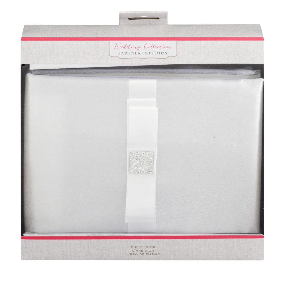 Gartner Studios Wedding Collection Guest Book, 1.0 CT