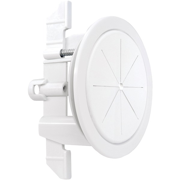 """Midlite R2sp-w SPEEDPORT Universal Cable Pass Thru, Fastening and Anchor System, 2-3/8"""", White"""