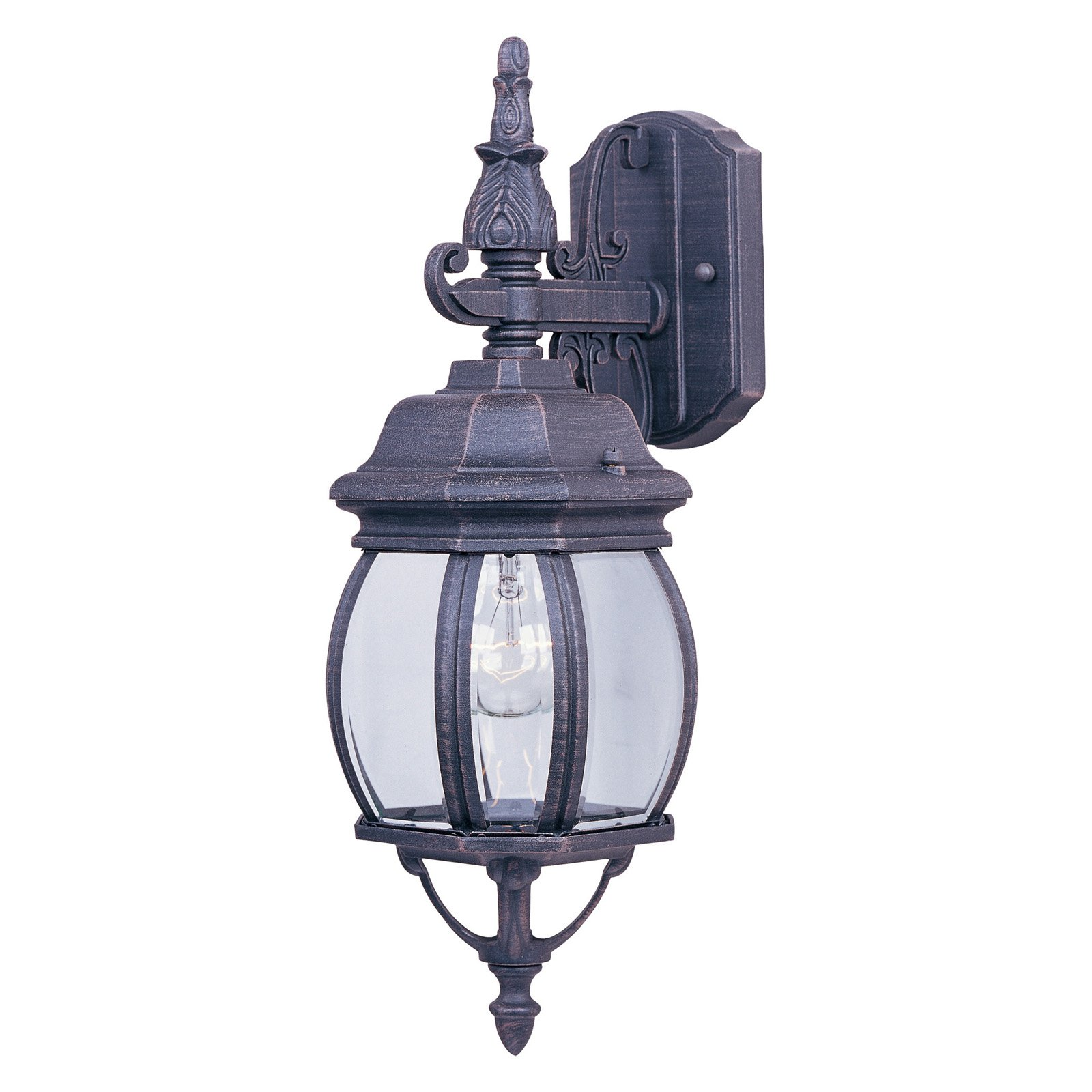 Maxim Crown Hill Outdoor Hanging Wall Lantern - 15.5H in.
