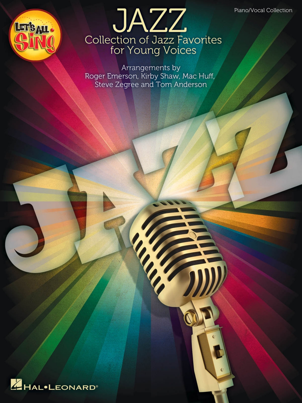 Hal Leonard Let's All Sing Jazz Performance Accompaniment CD Arranged by Roger Emerson by