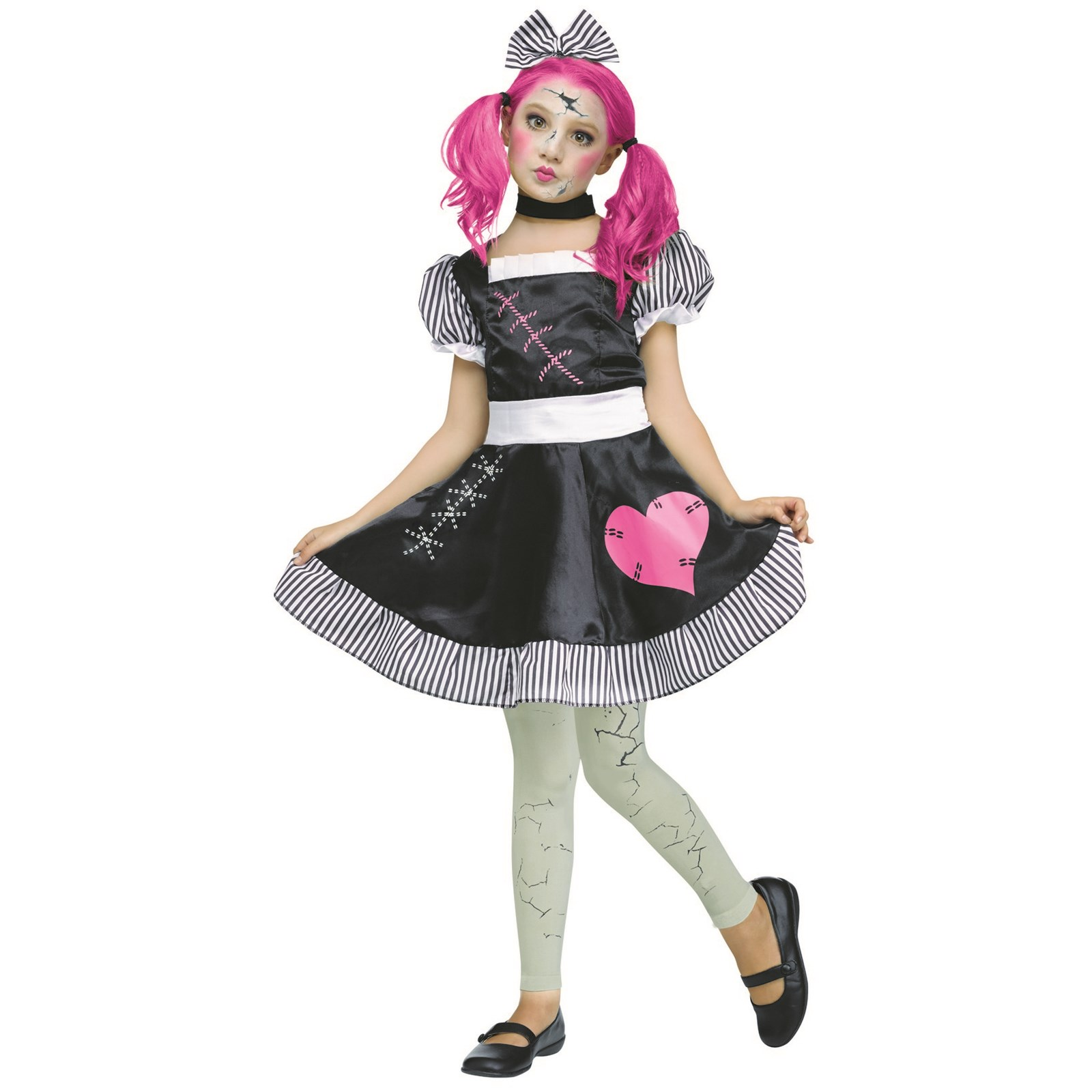 Broken Doll Child Halloween Costume