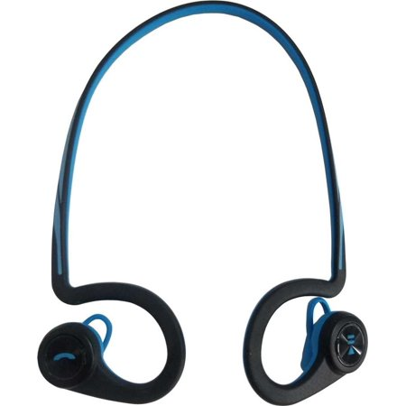 1fd4c6477e2 Plantronics BackBeat Fit Bluetooth Waterproof Headphones - Blue  (Refurbished) - Walmart.com
