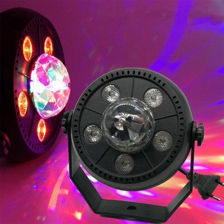 Party Light Machine (LED Party Lights Rotate Lamp Karaoke Machine Strobe Dance Light Disco DJ Ball)