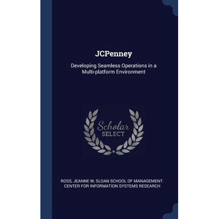 Jcpenney: Developing Seamless Operations in a Multi-Platform Environment Hardcover Jcpenney: Developing Seamless Operations in a Multi-Platform Environment Height : 0.25 In Length : 9.21 In Width : 6.14 In Weight : 0.54 lbs