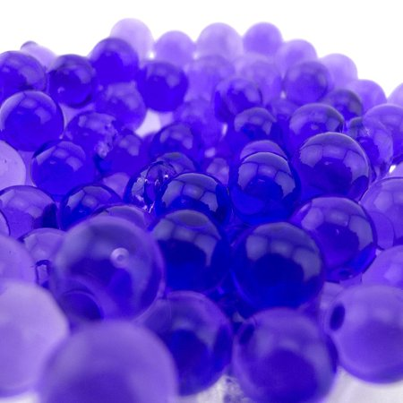 JellyBeadZ Party Planner Purple -1- Pound Bag Water Beads Pearls- Used for Weddings and Centerpieces Purple, Water BULKTURQUOISE Gems FLORIST Weddings SPECIAL DECORATORS.., By Gift Square Décor