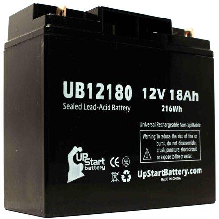 2x Pack Compatible APC SMART-UPS 1000XL Battery - Compatible UB12180 Universal Sealed Lead Acid Battery (12V, 18Ah, 18000mAh, T4 Terminal, AGM, SLA) - image 3 of 4