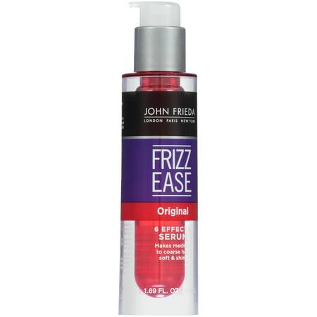 Diamond Hair Serum - John Frieda Frizz Ease 6 Effects Original Hair Serum 1.69 fl. oz. Pump