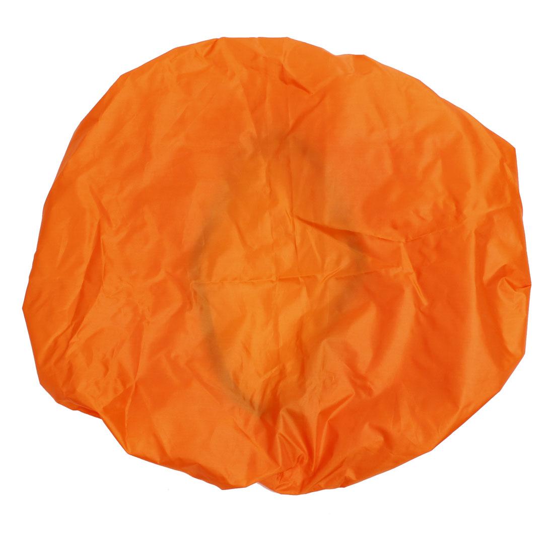 Unique Bargains Wilderness Survival Gear Protective Waterproof Backpack Cover 35L Orange