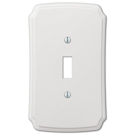 AmerTac 37T Classic White Composite Wall plate