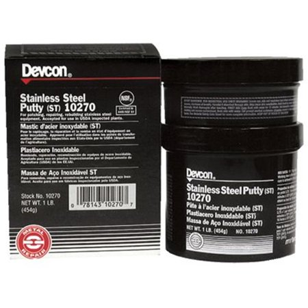 Stainless Steel Putty (ST), 1 lb (Steel Putty)