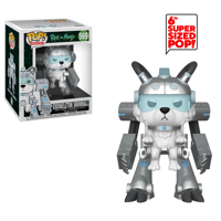 "Funko POP! Animation: Rick & Morty: 6"" Exoskeleton Snowball"