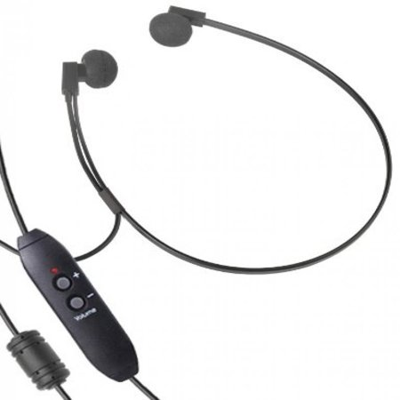 Spectra SP-USB USB Transcription Headset with Volume Control by