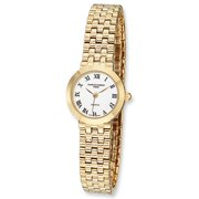 Charles-Hubert Paris Women's Satin Gold-Plated Watch by Charles Hubert