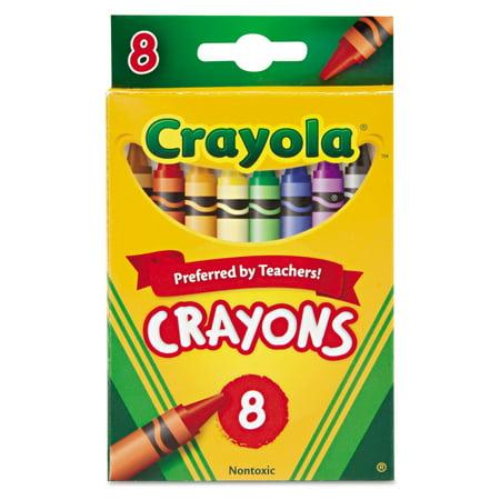- Crayola Classic Color Crayons, Per Box 8 Count (2)
