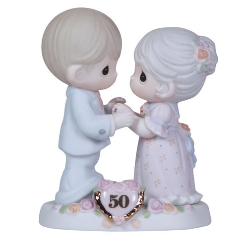 Precious Moments Anniversary 50th Figurine
