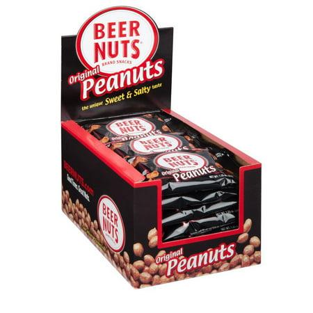 BEER NUTS Original Peanuts - Single Serve Display (3m Nuts)