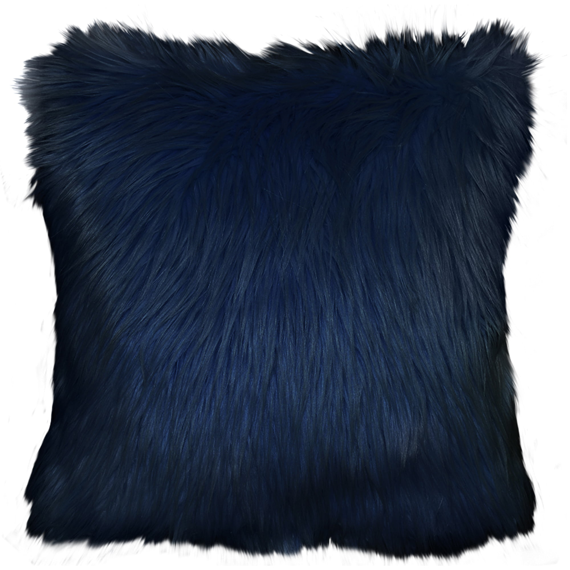 faux fur pillow throw authier shaggy decor pinterest pin