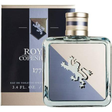 4 Pack - Royal Copenhagen 1775 Eau De Toilette Spray 3.40 oz