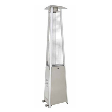 Hiland Commercial Stainless Steel Glass Tube Patio Heater ()