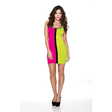 Halloween Clothing Stores (Halloween Wholesalers Color Block Dress - Green and)