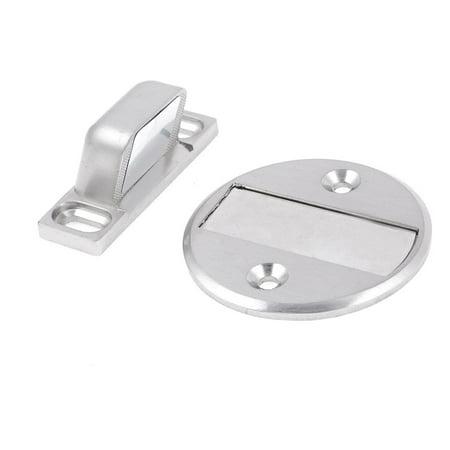 Unique Bargains Home Door Stop Stopper Holder Metal Interior Magnetic (Door Stop Holder)