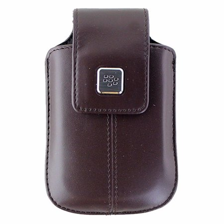 BlackBerry Leather Swivel Holster for Curve 8900 - (Blackberry Curve Red)