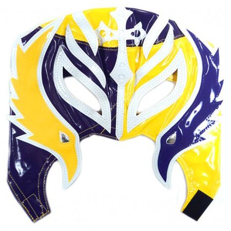 WWE Wrestling Rey Mysterio Replica Mask [Youth, Purple & (Pics Of Rey Mysterio Without His Mask)