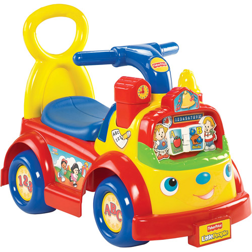 Fisher-Price Little People Time to Learn Ride-On